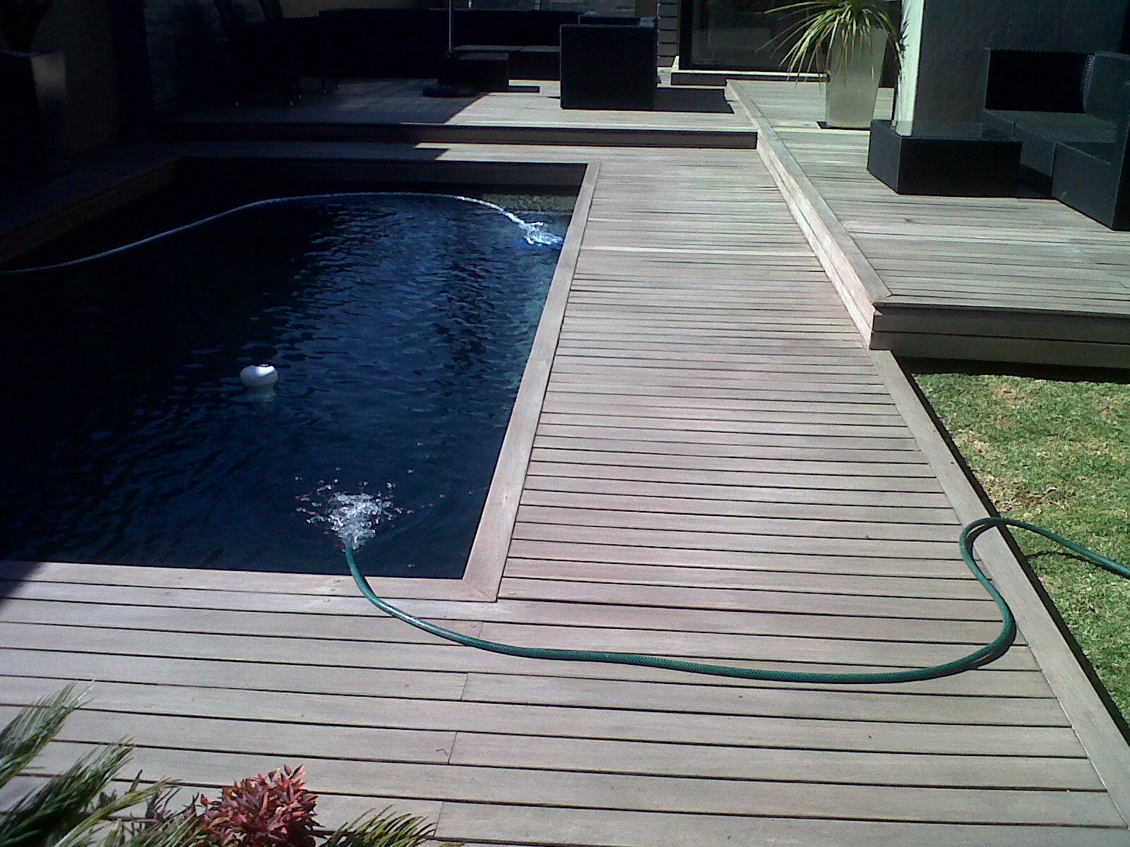 Decking Around Pool